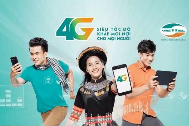 Đăng Ký Sử Dụng Gói Cước 4G Dành Cho Thuê Bao Viettel Trả Sau